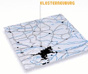 3d view of Klosterneuburg