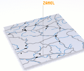 3d view of Záměl