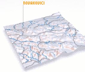 3d view of Novakovići