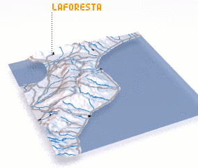 3d view of La Foresta