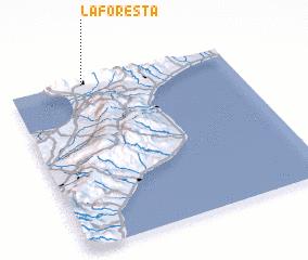 3d view of La Foresta