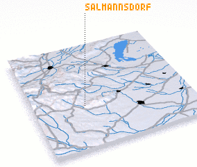 3d view of Salmannsdorf
