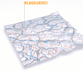 3d view of Blagojevići