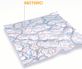 3d view of Rastovići