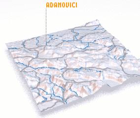 3d view of Adamovići