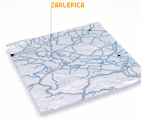 3d view of Zaklepica