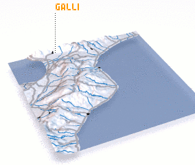 3d view of Galli