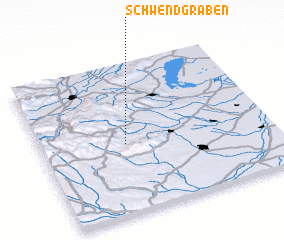 3d view of Schwendgraben