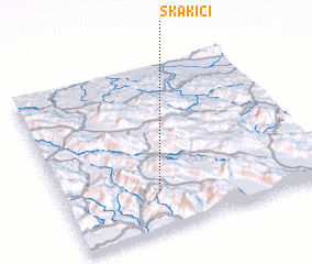 3d view of Skakići