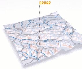 3d view of Drvar