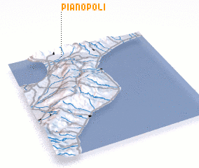 3d view of Pianopoli