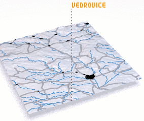 3d view of Vedrovice