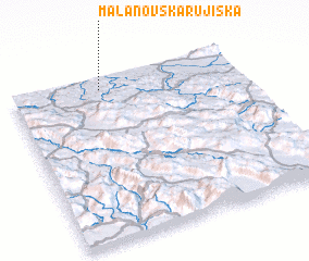 3d view of Mala Novska Rujiška