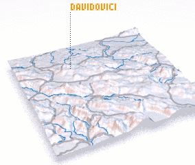 3d view of Davidovići
