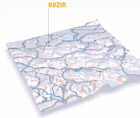 3d view of Kozin