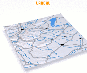 3d view of Langau