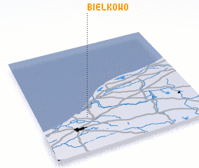 3d view of Bielkowo
