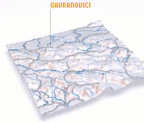 3d view of Gavranovići