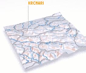 3d view of Krčmari