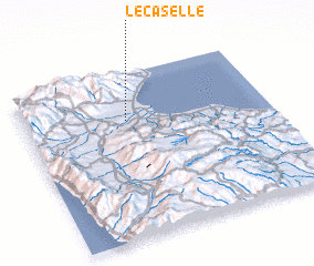 3d view of Le Caselle