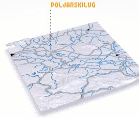 3d view of Poljanski Lug