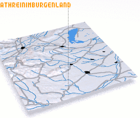 3d view of Sankt Kathrein im Burgenland