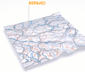 3d view of Repajići