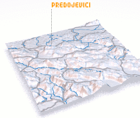 3d view of Predojevići