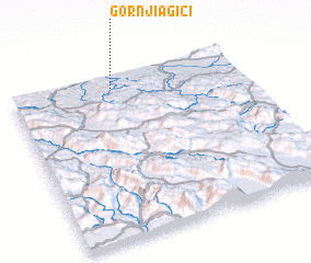 3d view of Gornji Agići