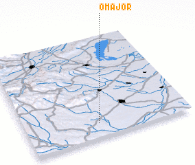 3d view of Ómajor
