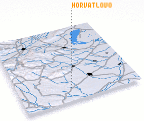 3d view of Horvátlövő