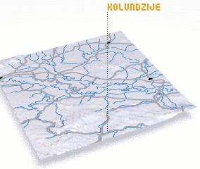 3d view of Kolundžije