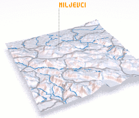 3d view of Miljevci