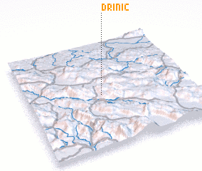 3d view of Drinić