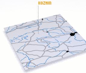 3d view of Koźmin