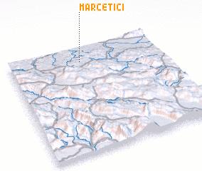 3d view of Marčetići