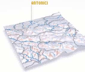 3d view of Antonići