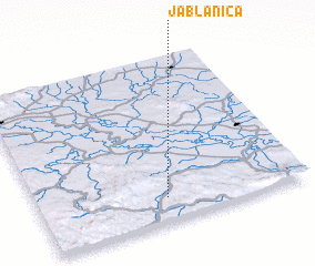 3d view of Jablanica