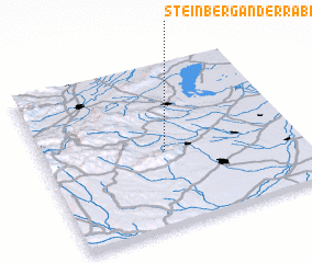 3d view of Steinberg an der Rabnitz