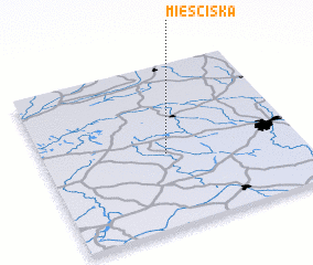 3d view of Mieściska