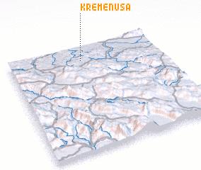 3d view of Kremenuša