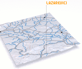 3d view of Lazarevići