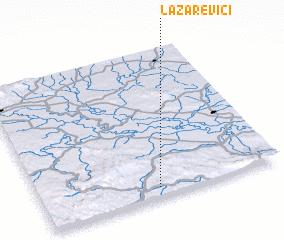3d view of Lazarevići