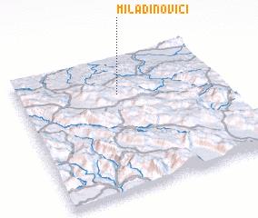 3d view of Miladinovići