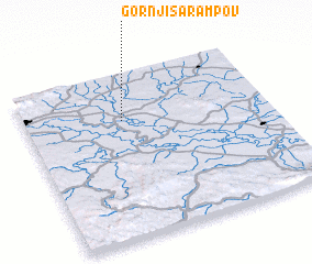3d view of Gornji Šarampov