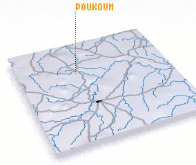 3d view of Poukoum