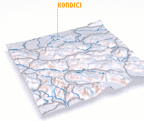 3d view of Kondići