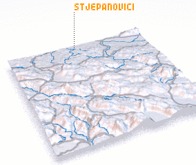 3d view of Stjepanovići