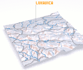 3d view of Lukavica