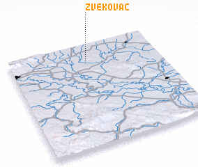 3d view of Zvekovac